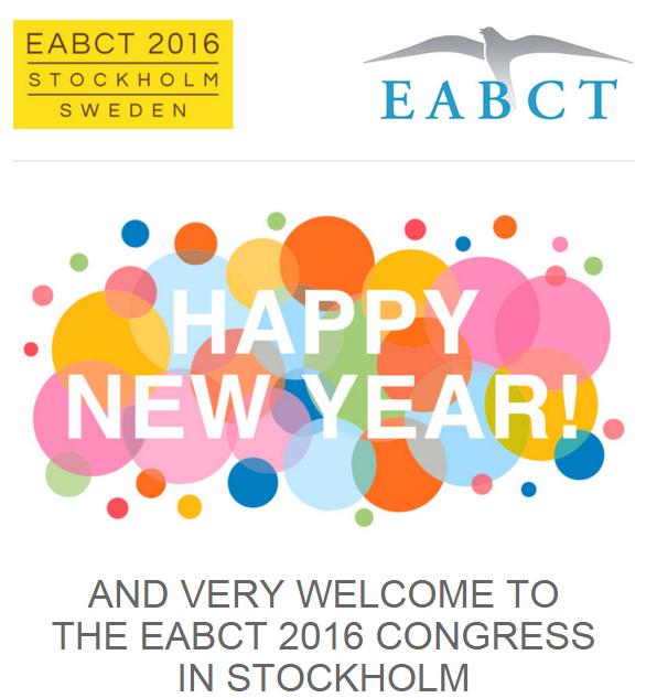 EABCT 2016 - Newsletter 2